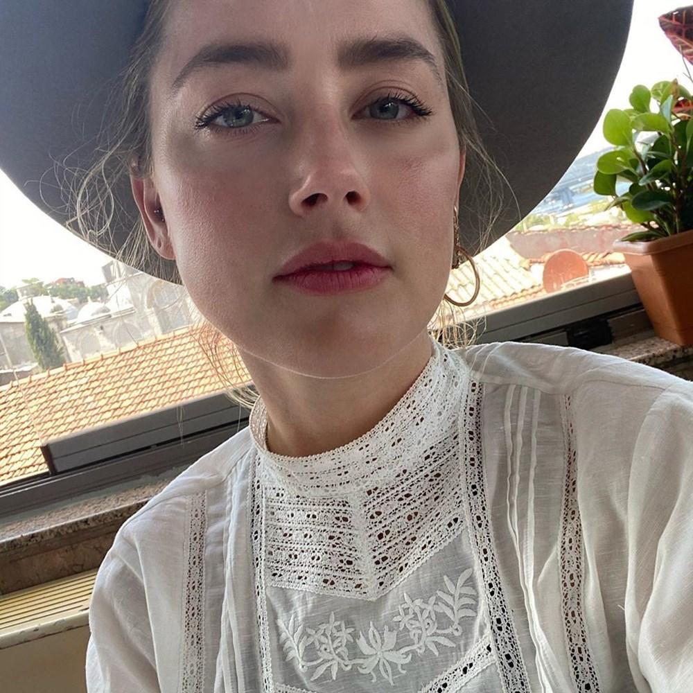 Amber Heard'dan Türkiye'ye veda paylaşımı: Hoşça kal demek çok zor - 9