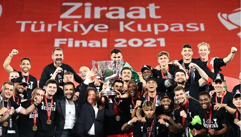 SON DAKİKA: Ziraat Türkiye Kupası Beşiktaş'ın | NTV
