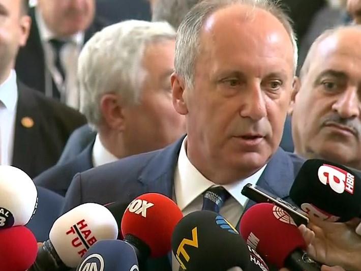 İnce'den Kılıçdaroğlu'na: Ben başkan olayım, sen onursal başkanlık yap