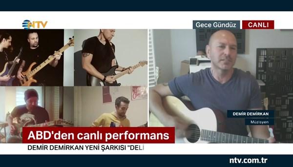 Demir Demirkan'dan canlı performans (Gece Gündüz 21 Mayıs 2020)