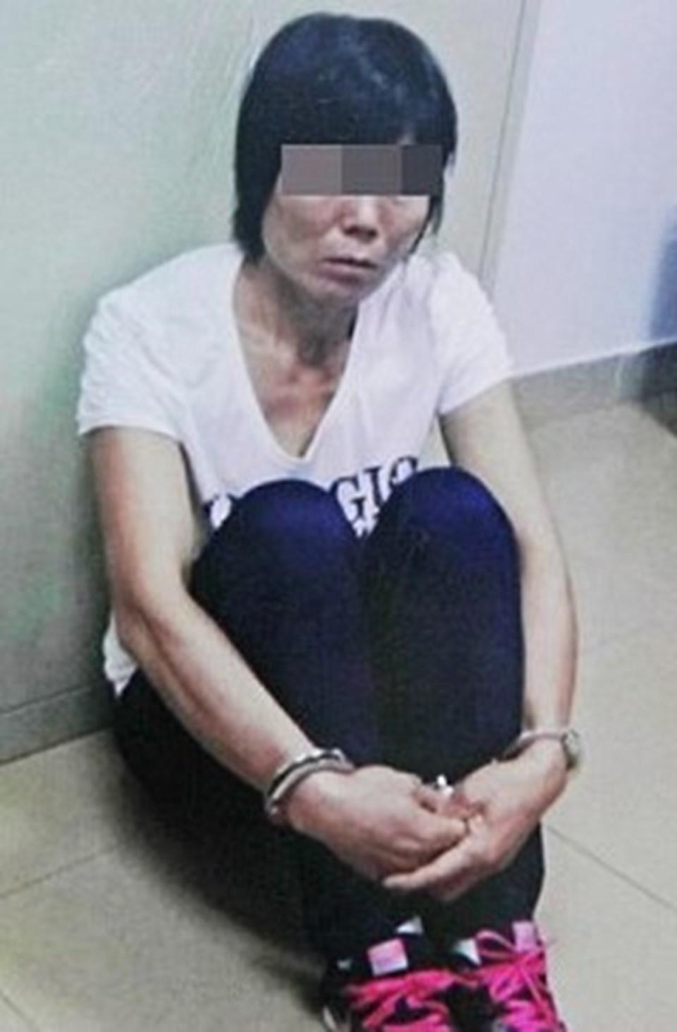 Shuangjian'ı kaçıranlardan biri olan Chen Biqun, gözaltına alındı.