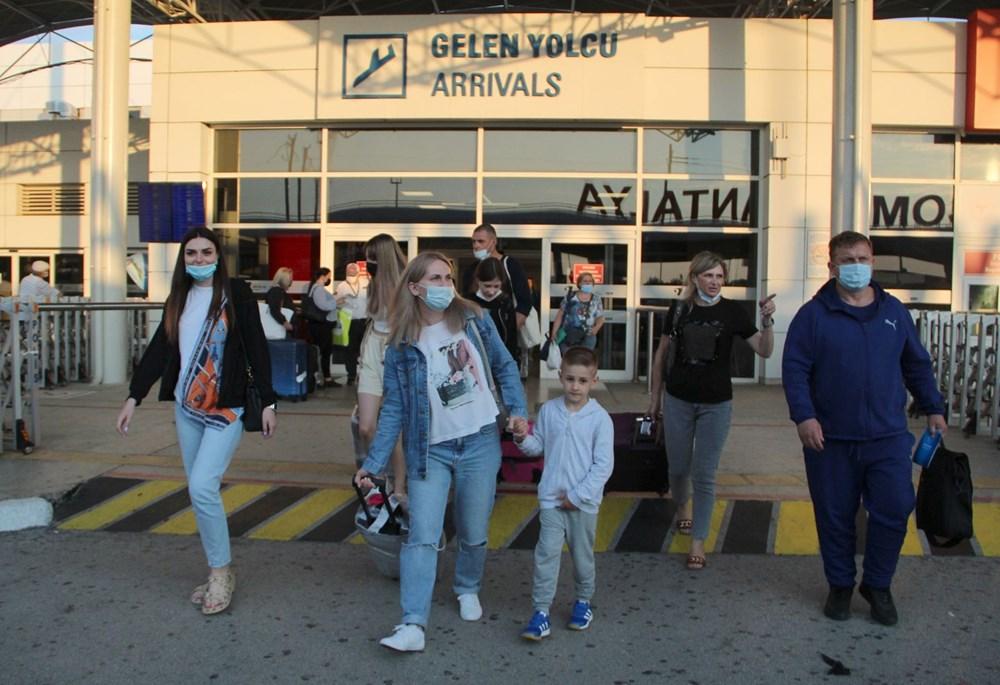 Kapılar açıldı, Ruslar akın akın geliyorlar! Rusya'dan hava trafiği yüzde 45 arttı - 31