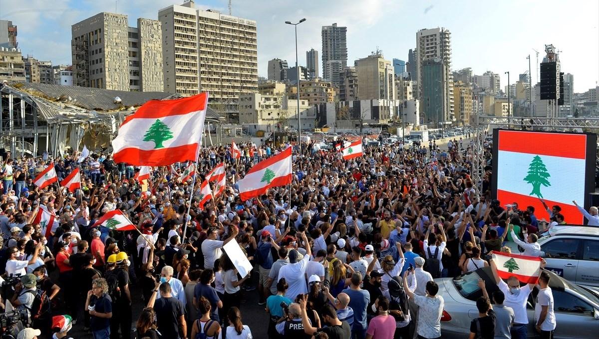 Lübnan'da gösteriler dördüncü gününde