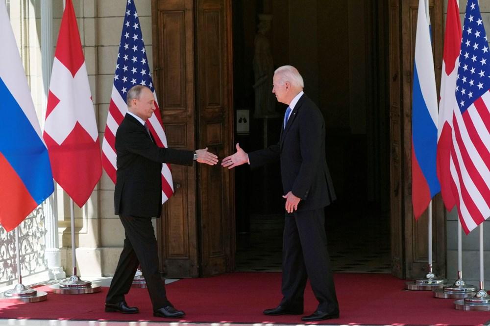ABD Başkanı Biden ve Rus Devlet Başkanı Putin'in görüşmesi başladı: Zirveden kareler - 1