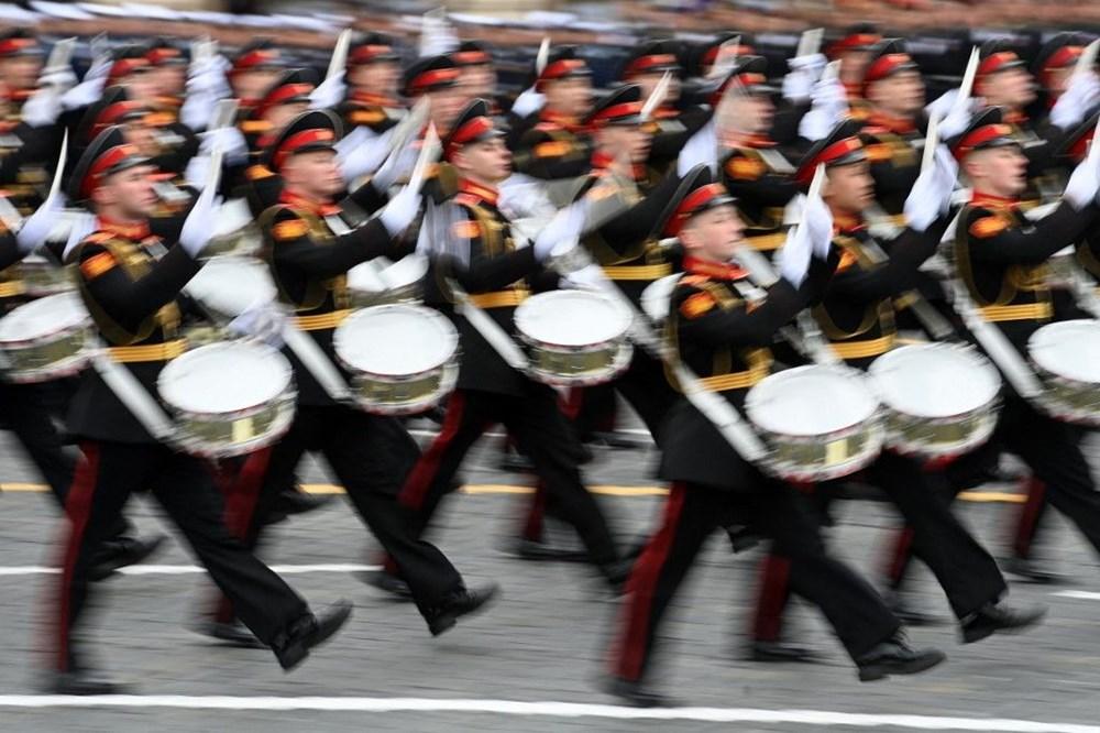 Rusya'da Zafer Günü kutlamaları: Moskova'da askeri geçit töreni - 10