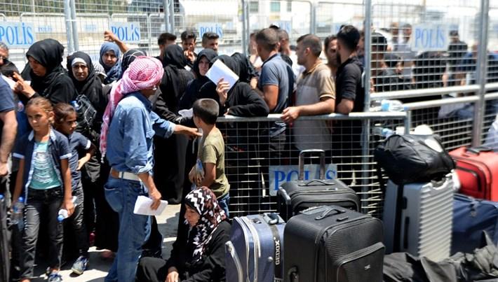 33 bin Suriyeli bayram için ülkesine gitti