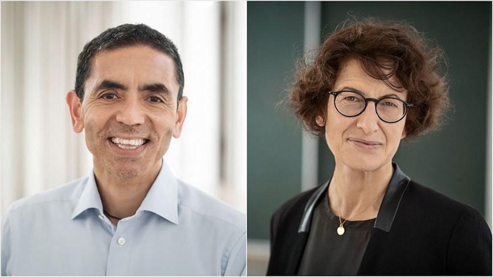 Prof. Dr. Uğur Şahin ve Dr. Özlem Türeci, güçlendirilmiş aşı için tarih verdi: 100 gün içinde hazır - 1