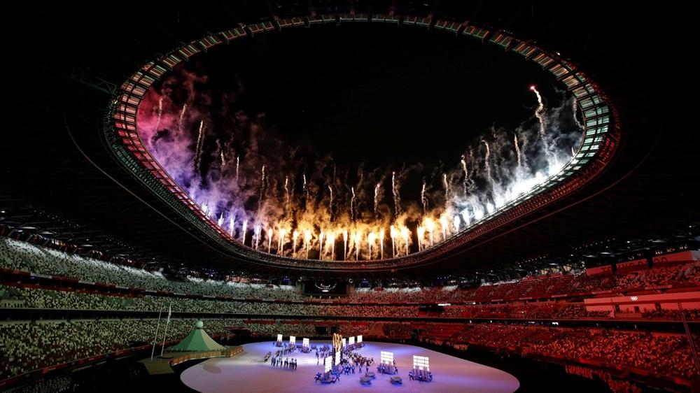 2020 Tokyo Olimpiyatları görkemli açılış töreniyle başladı - 38