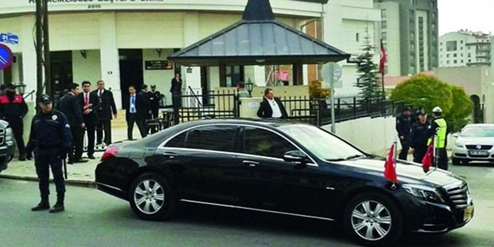 Cumhurbaşkanı Erdoğan makam aracı