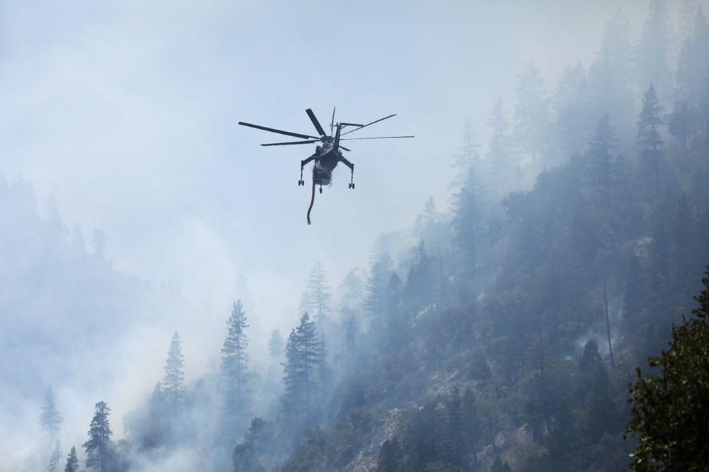 ABD'deki yangın 82 kilometreye yayıldı - 4