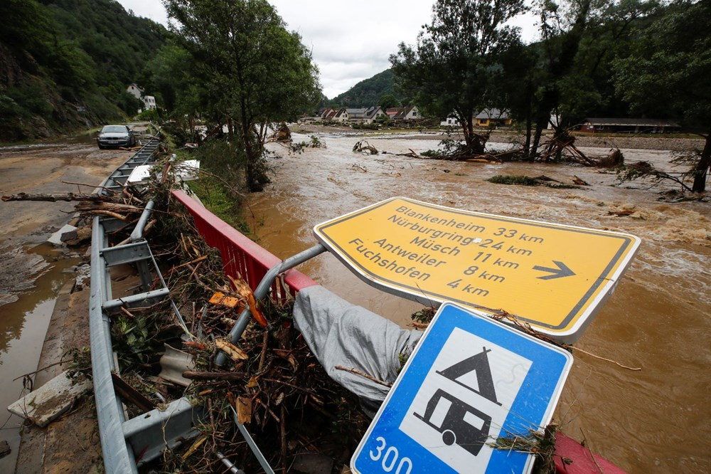 Flood disaster in Germany: The death toll reaches 95 - 6
