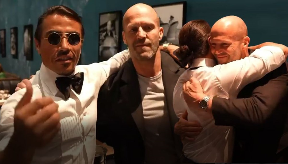 Nusret ile Jason Statham buluştu