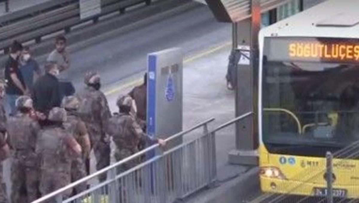 SON DAKİKA HABERİ: Metrobüste rehine eylemi