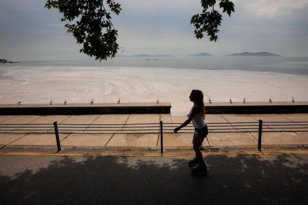 İstanbul'un sahilleri müsilajla doldu: 95 yıldır böyle bir şey görmedim - 12