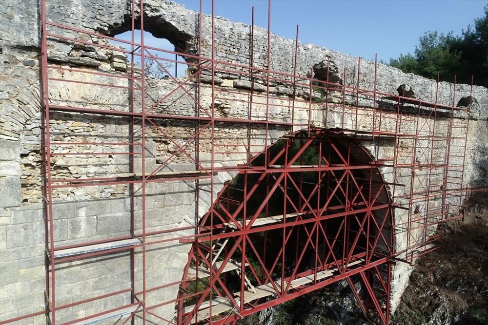 Troya'nın 3 bin 500 yıllık su kemeri restore ediliyor - 13