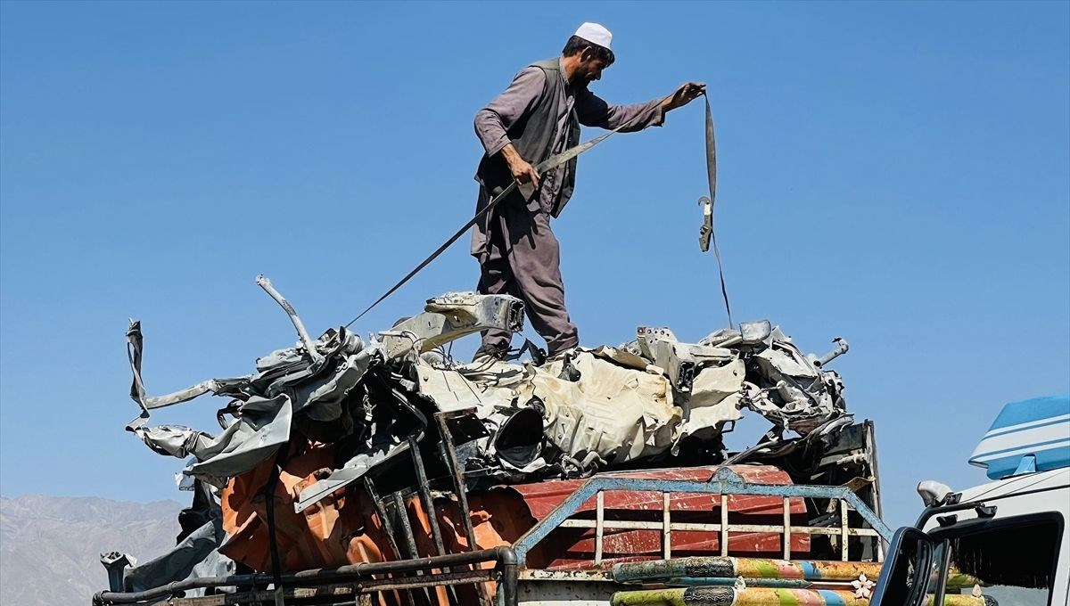 USA sells leftover equipment from Afghanistan to scrap dealers