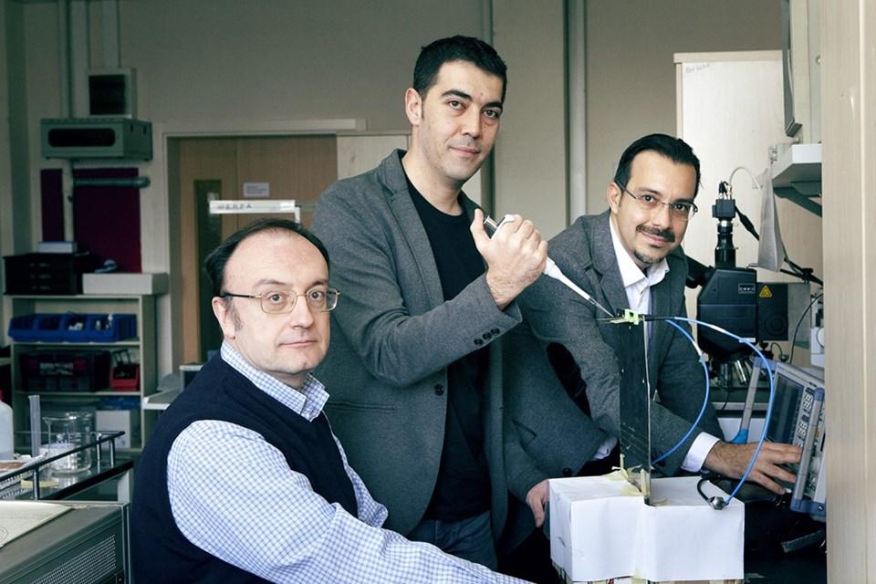 Prof. Günhan Dündar, Doç. Dr. Arda Deniz Yalçınkaya ve Doç. Dr. Hamdi Torun