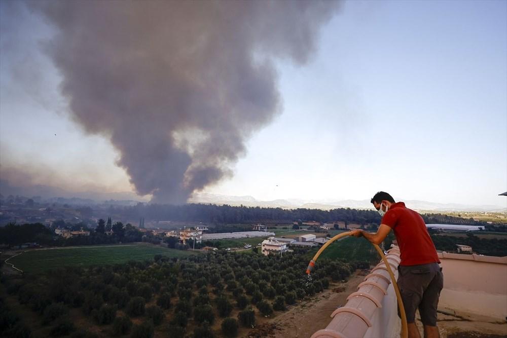 Antalya Manavgat'ta büyük yangın - 11