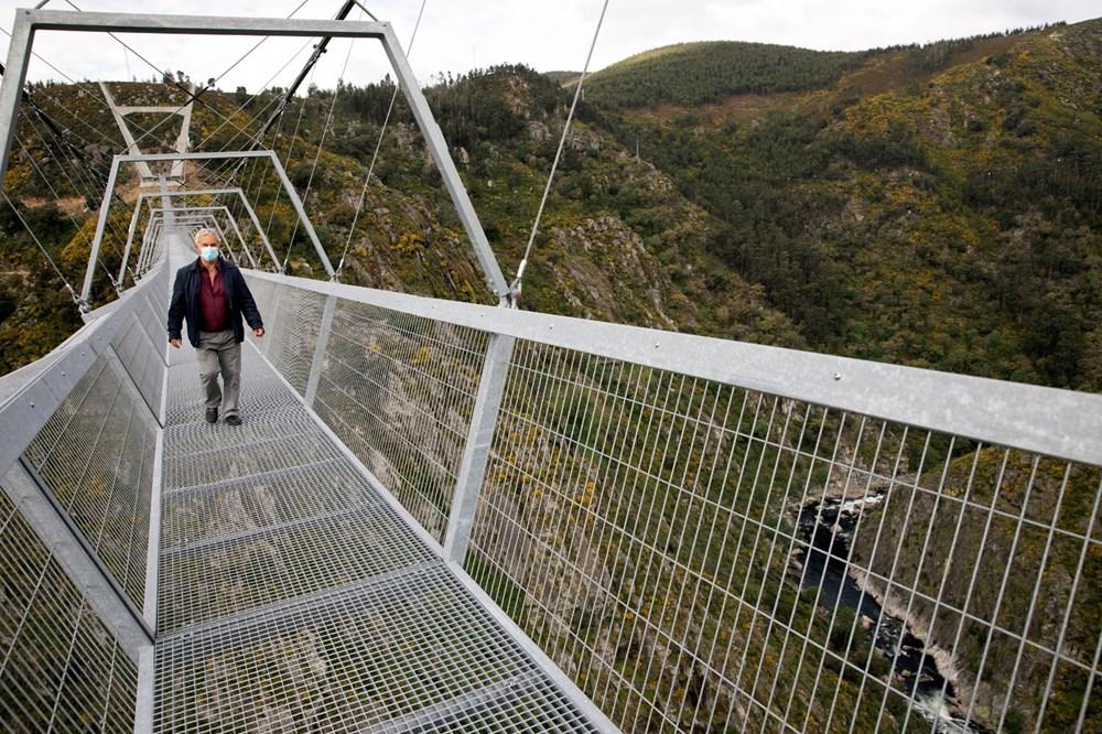 Yayalara özel en uzun asma köprü açıldı - 3