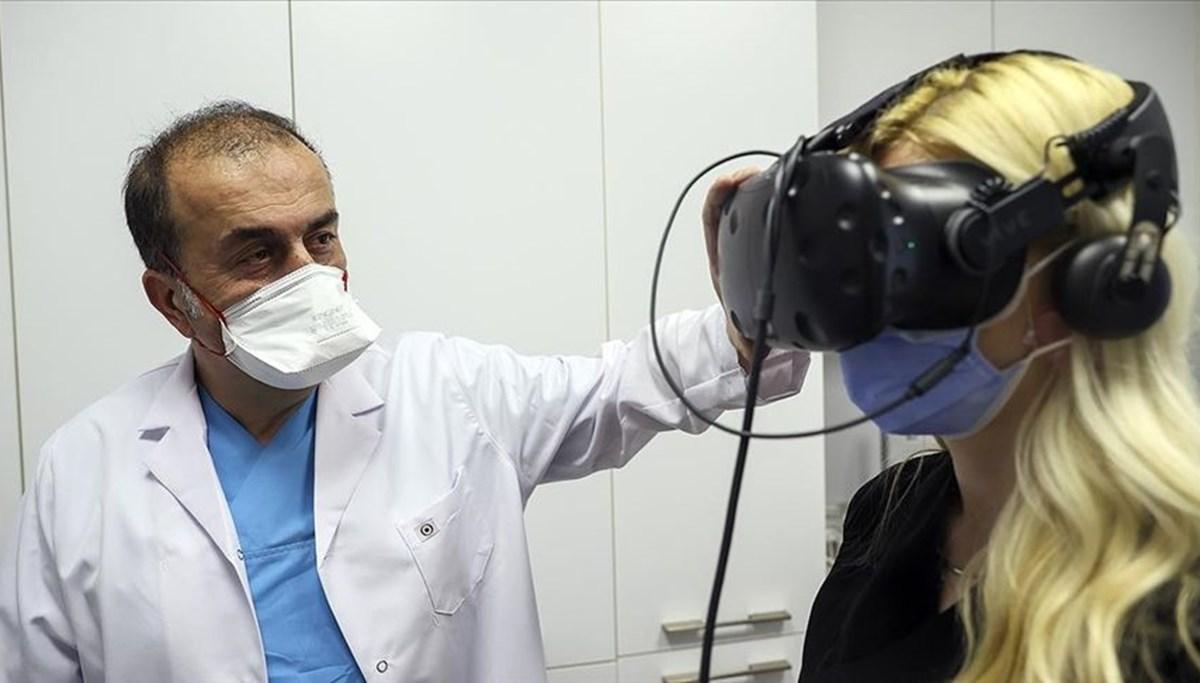 Vertigoya ilaçsız sanal gerçeklik tedavisi