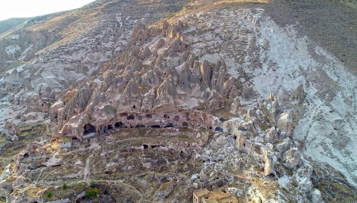 Kayseri Kapadokya'ya rakip oldu: Yeşilhisar peri bacaları turizme kazandırılmayı bekliyor