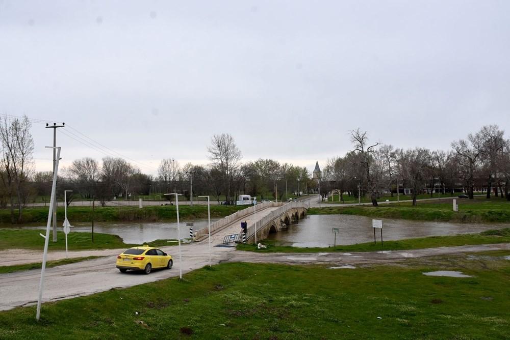 Tunca Nehri bir haftada 4 kat arttı: Sarı alarm verildi - 5