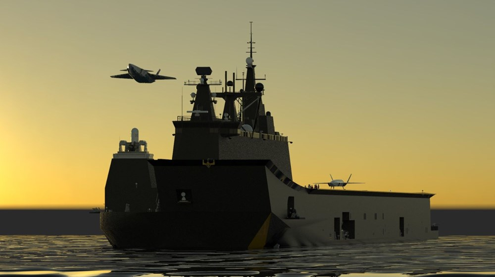 Baykar'dan insansız savaş uçağına ilişkin görsel paylaşımı - 4
