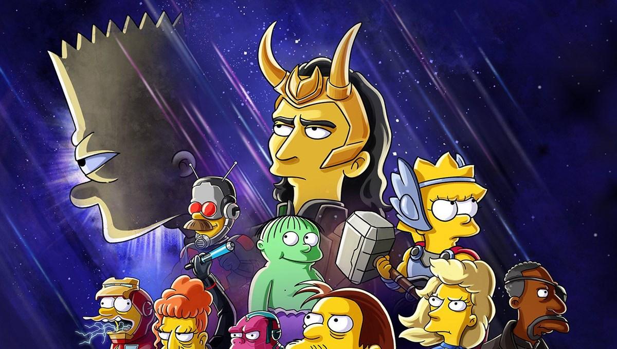 Simpsonlar (The Simpsons) Loki özel bölümüyle geliyor