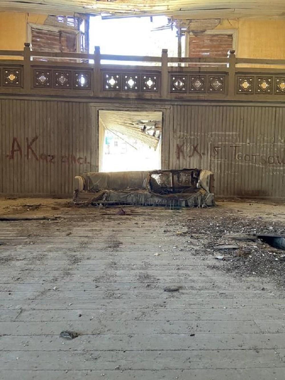 Büyükada Rum Yetimhanesi'nin son hali: İçi görüntülendi - 25