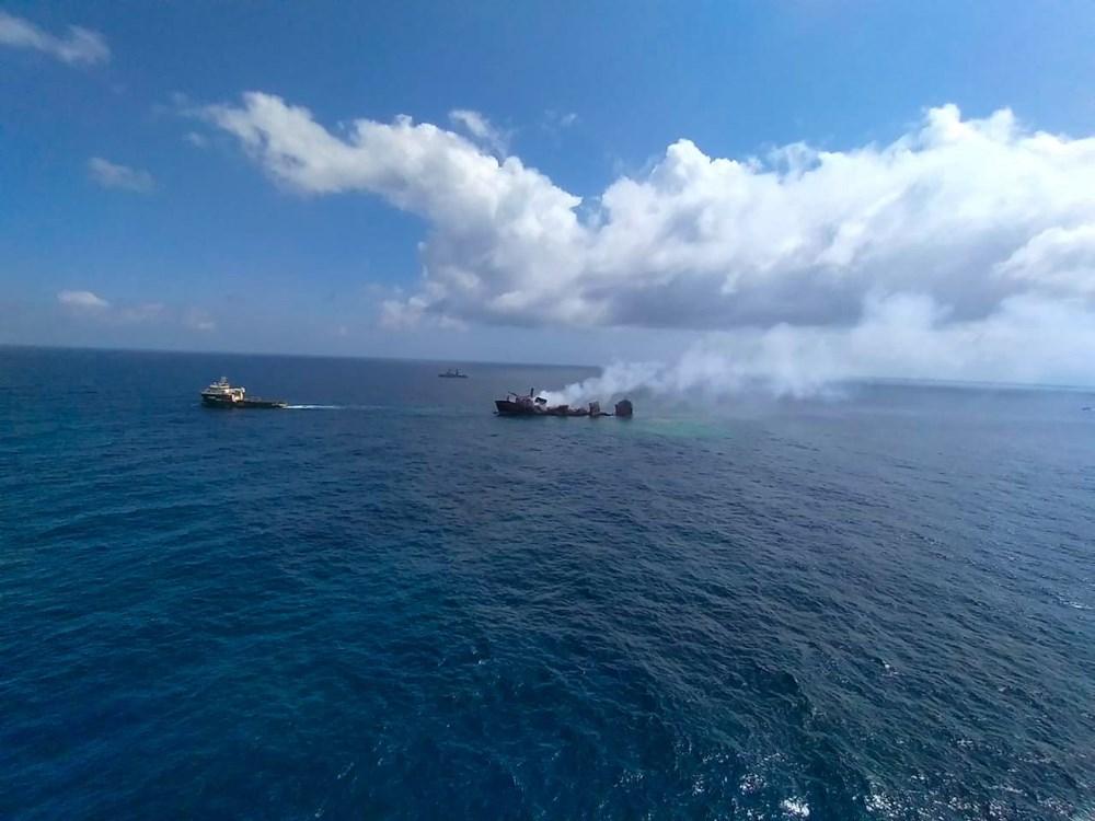 Kimyasal madde taşıyan gemi battı: Sri Lanka çevre felaketiyle karşı karşıya - 6