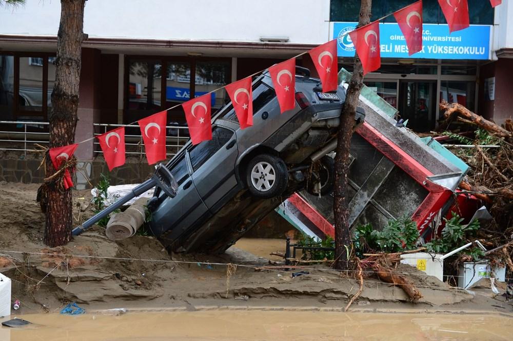 Giresun'u sel vurdu: 4 kişi hayatını kaybetti - 9