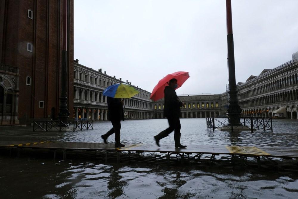 Venedik'te yine su baskını: Milyar dolarlık proje işe yaramadı - 17
