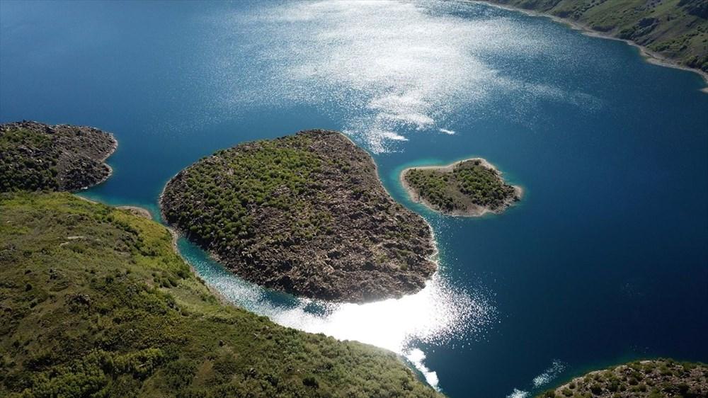 'Türkiye'nin en büyük krater gölü' Nemrut ziyarete açıldı - 9
