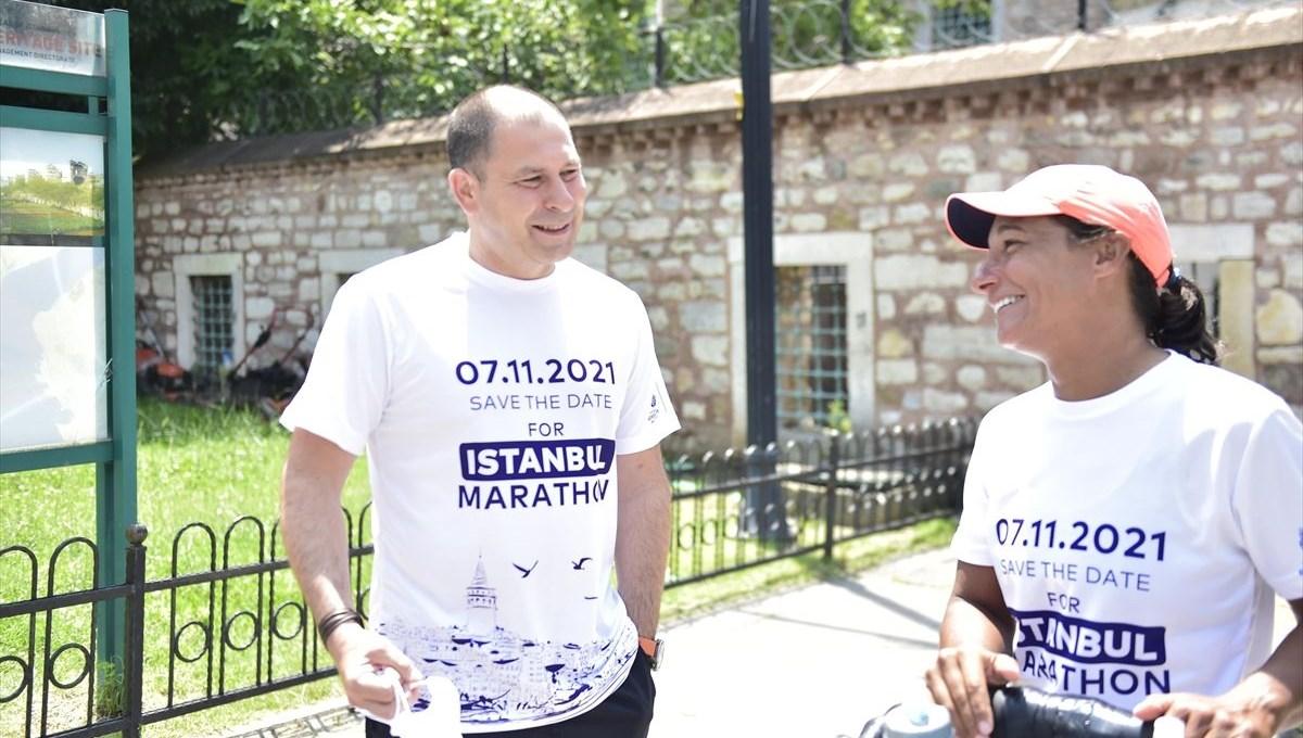 Dünyayı koşarak turluyor: Avrupa etabını İstanbul'da tamamladı