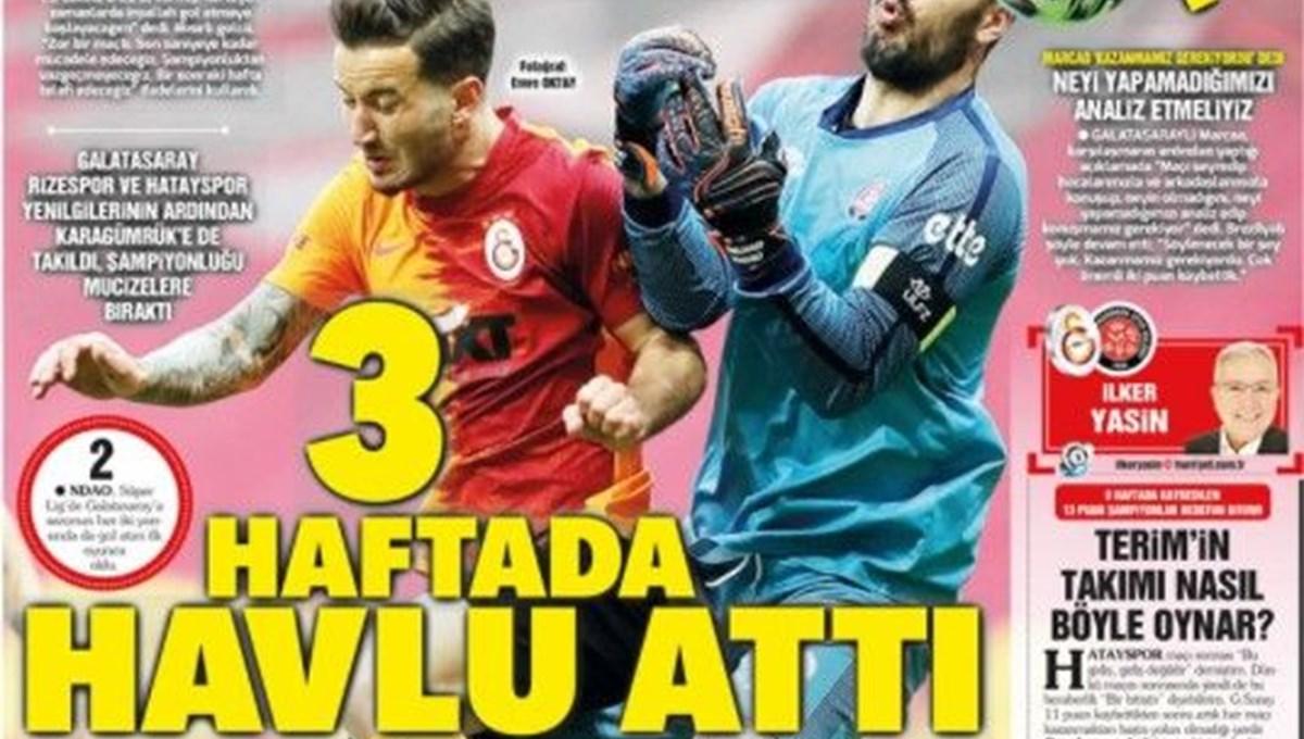 Günün spor manşetleri (11 Nisan 2021)