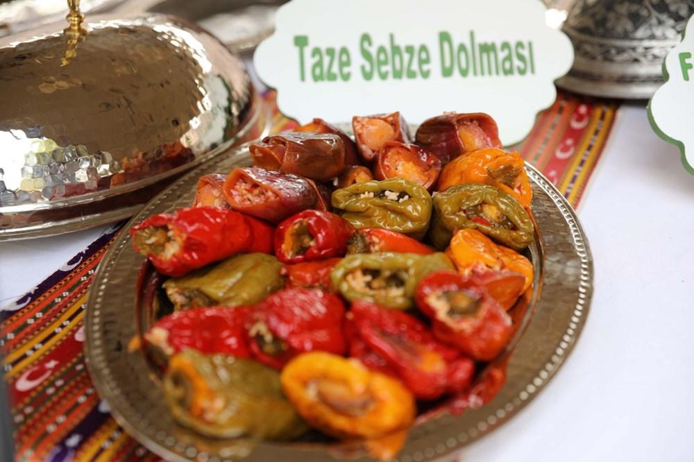 GastroAntep Festivali, fıstık hasadı ve şire yapımı ile başladı - 6