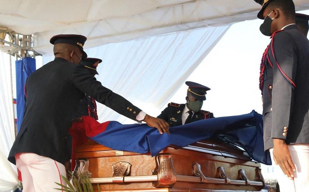 Suikasta uğrayan Haiti Devlet Başkanı'na cenaze töreni düzenlendi - 5