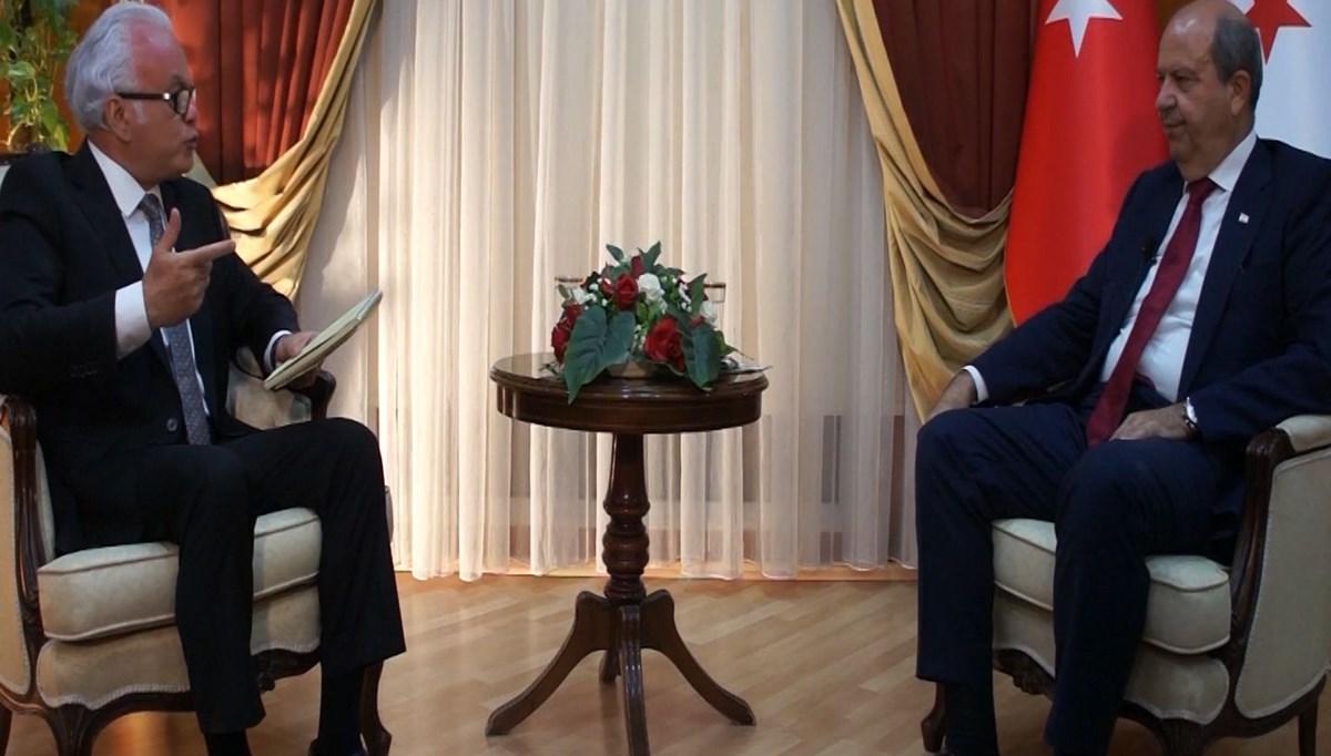 KKTC Başbakanı Ersin Tatar'dan NTV'ye özel açıklamalar
