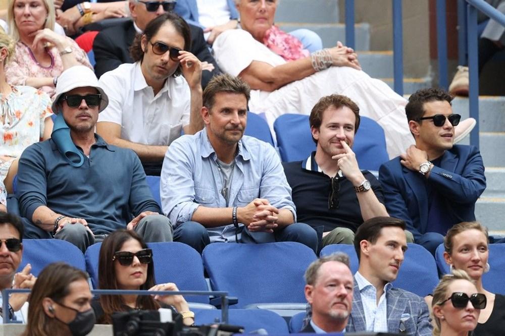 Brad Pitt ve Bradley Cooper tenis maçında - 2