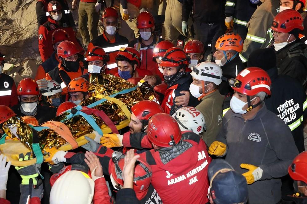 İzmir'de deprem sonrası enkaz altındakiler için zamana karşı yarış (65'inci saatte kurtarıldı) - 6