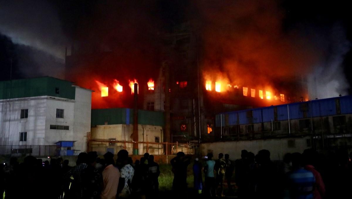 SON DAKİKA HABERİ... Bangladeş'te fabrika yangını: En az 52 ölü