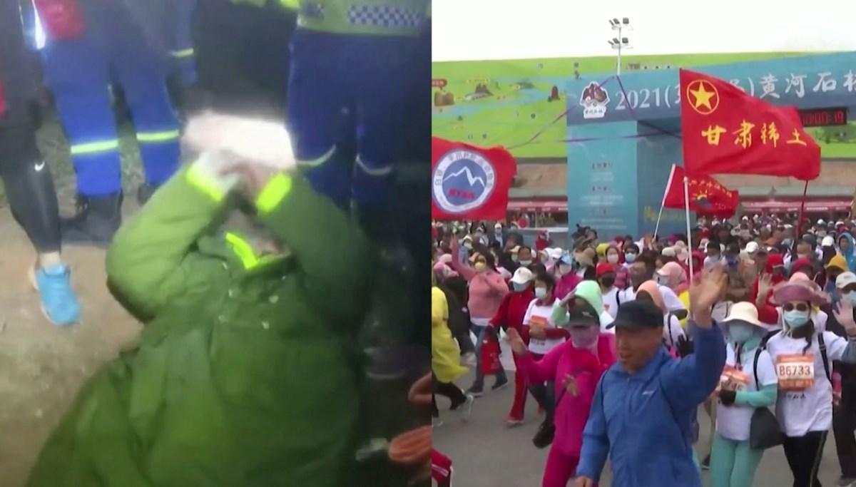 Çin'de maraton faciası: 21 sporcu hayatını kaybetti