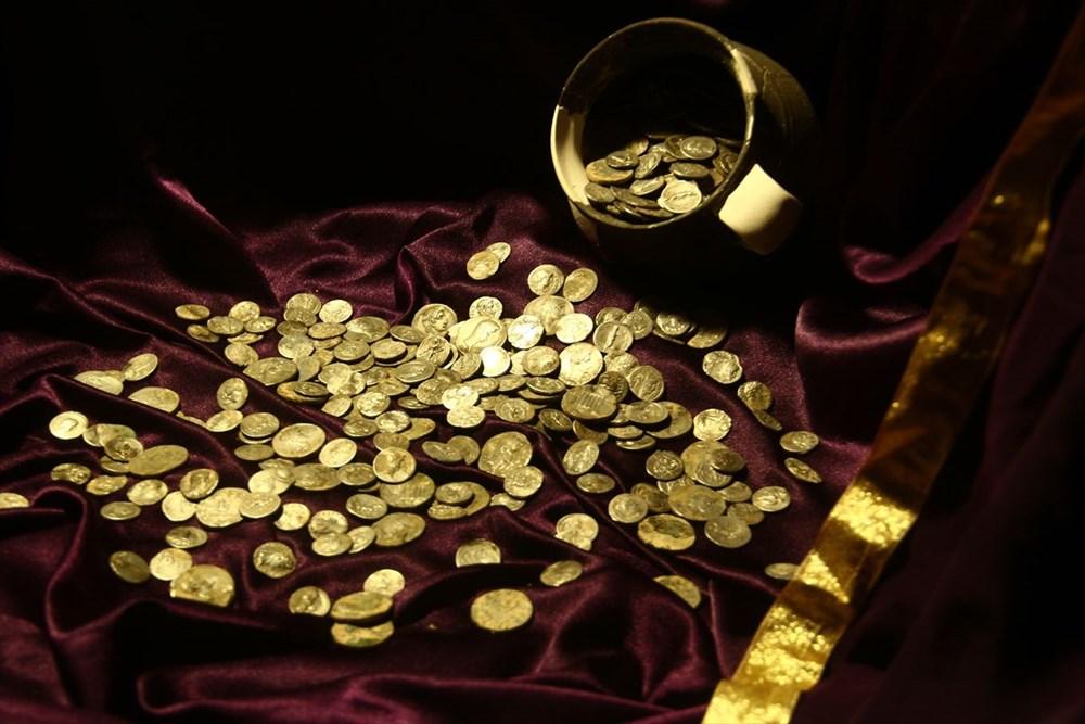 Aizanoi Antik Kenti'nde 'Roma'nın sikke koleksiyonu' bulundu - 8