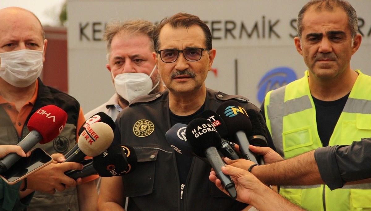 Bakan Dönmez'den 'Kemerköy Termik Santrali' açıklaması