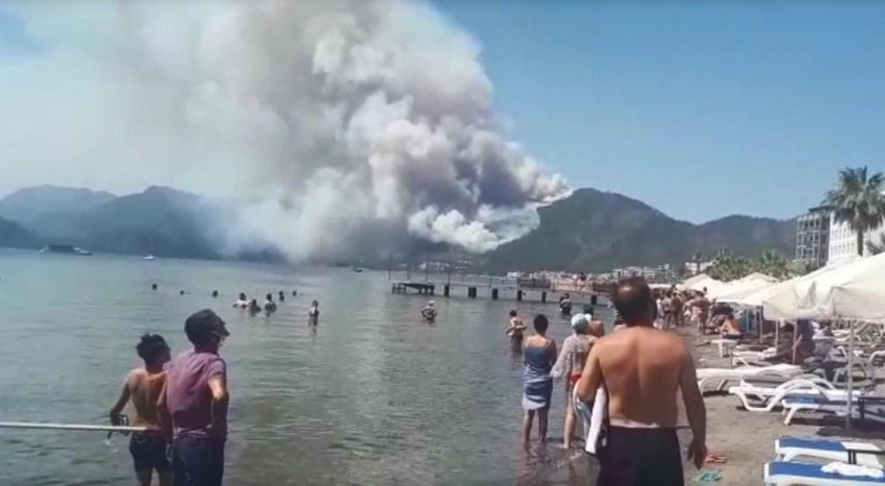 Marmaris'teki orman yangınından acı haber - 10