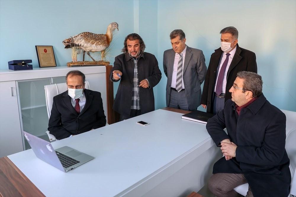 Van'da yaban hayvanları tahnit sanatıyla müzede tanıtılacak - 6