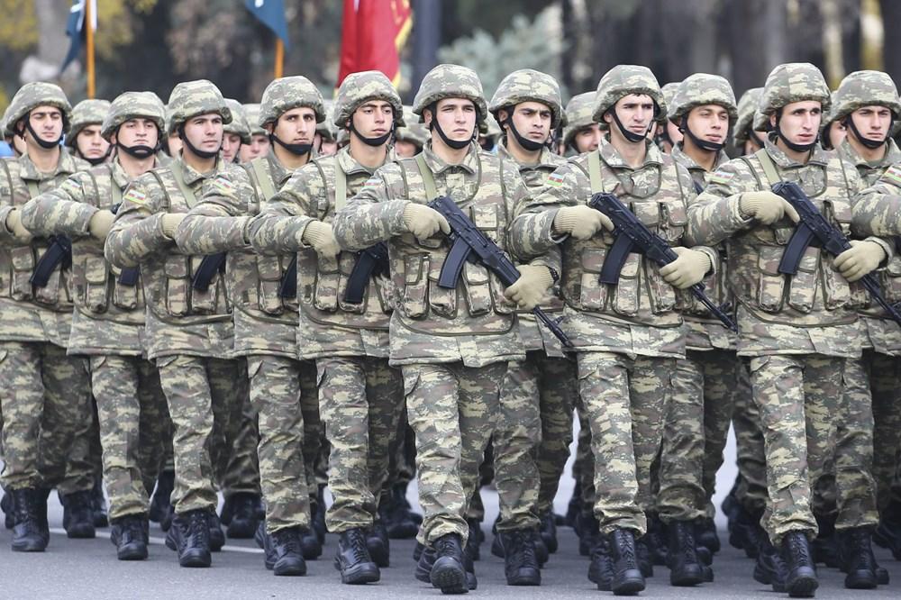 Bakü'de Karabağ zaferi kutlaması - 8