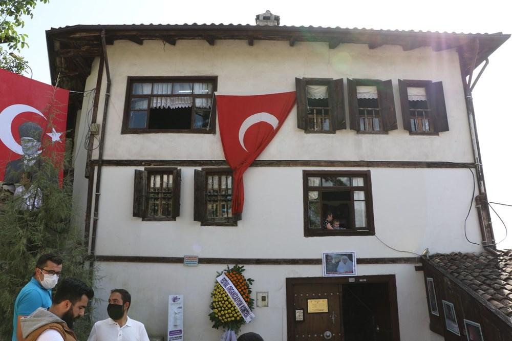 Safranbolu'da 200 yıllık eve 'En İyi Korunan Ev Onur Ödülü' verildi - 2