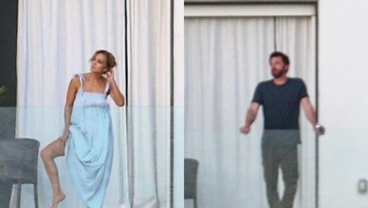 Jennifer Lopez ve Ben Affleck Miami tatilinde
