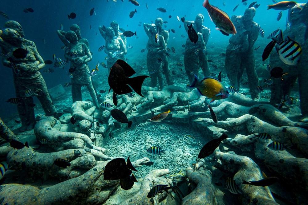 Sanatın en derin hali: Dünyanın en güzel su altı müzeleri - 5